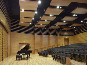Recital hall.