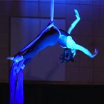 HSA performer, aerial silks