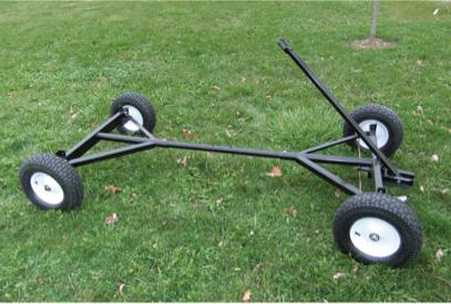 Image of wheeled base, Harvey Mudd project, HSA