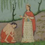 painting, Leyla and Majnun, 18th century