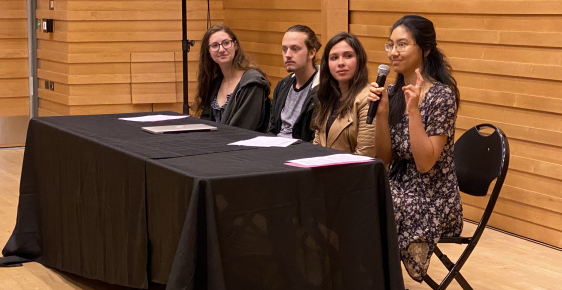 Harvey Mudd students present papers for MeToo Shakespeare course