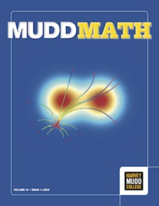 Cover of 2016 MuddMath Newsletter.