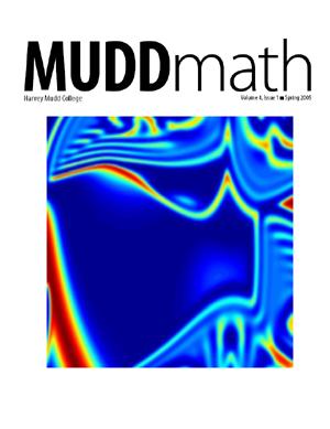 Cover of 2005 MuddMath Newsletter.