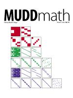 Cover of 2006 MuddMath Newsletter.