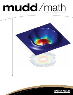 Cover of 2011 MuddMath Newsletter.
