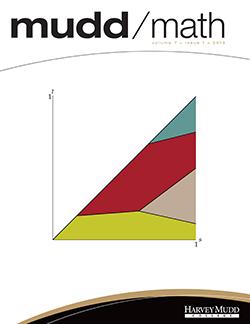 Cover of 2013 MuddMath Newsletter.