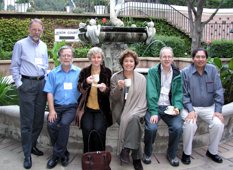Jim Keener, John Milton, Sally Blower, Zvia Agur, Bard Ermentrout, and Carlos Castillo-Chavez