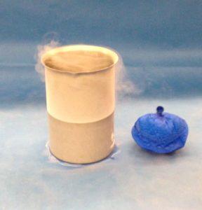 Baloon in Liquid N2 4E10-1