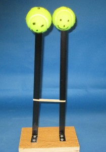 Coupled Oscillation with Tennis Balls 3A70_21
