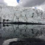 Nevado Pastoruri glacier.
