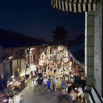 Pingyao city at night