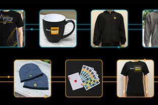 Items of the online store.