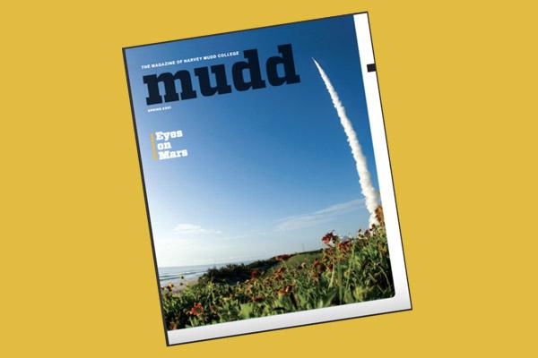 Cover of spring Mudd Magazine