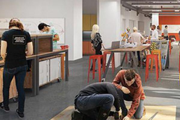 HMC makerspace rendering